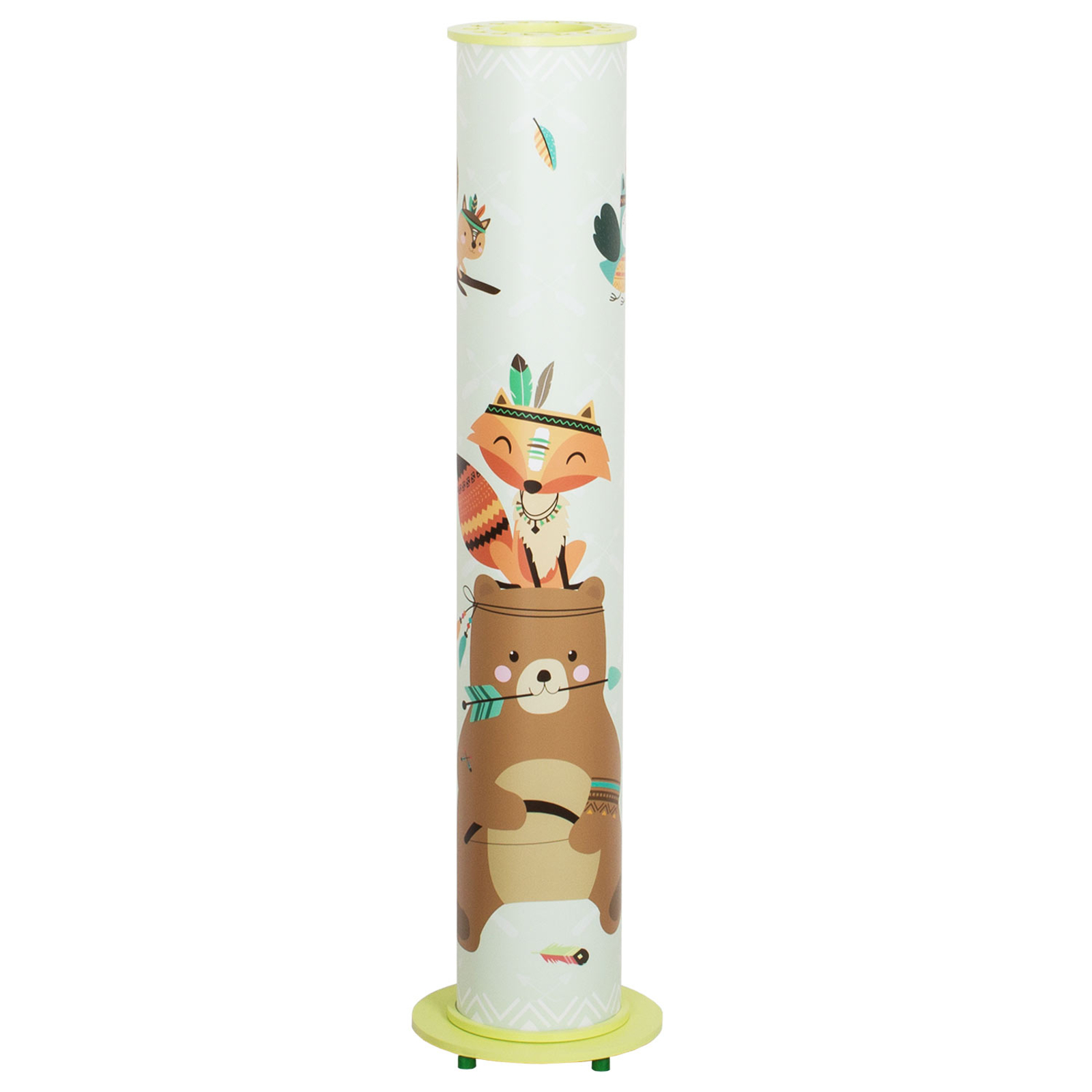 Lampadaire Little Indians 95/15, menthe, animal