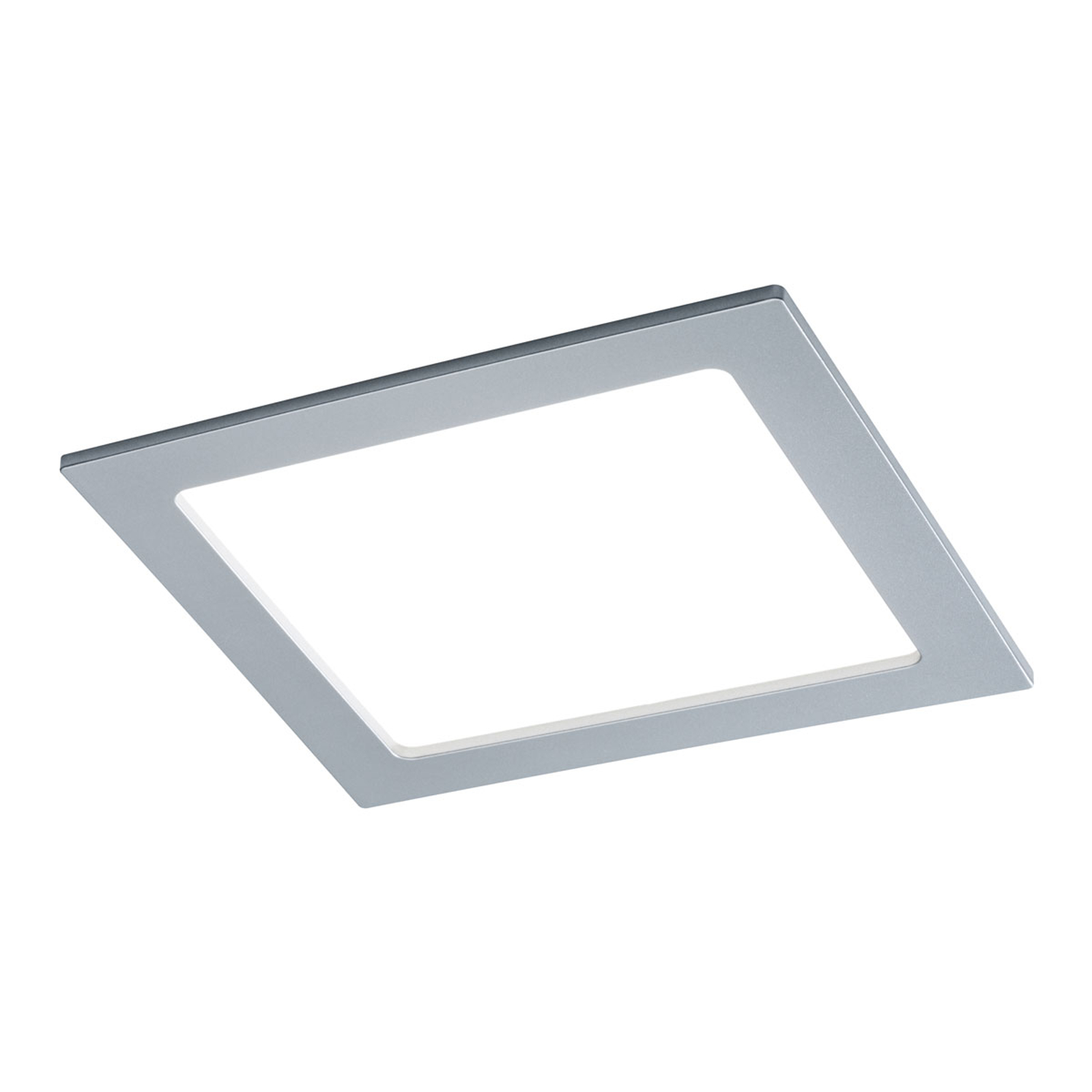 Paulmann LED-panel, kantet, 18W, 4.000 K, krom