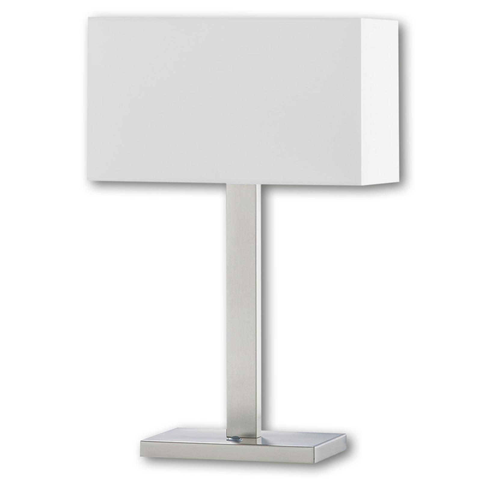 Stolní lampa Nave s chintzovým stínidlem