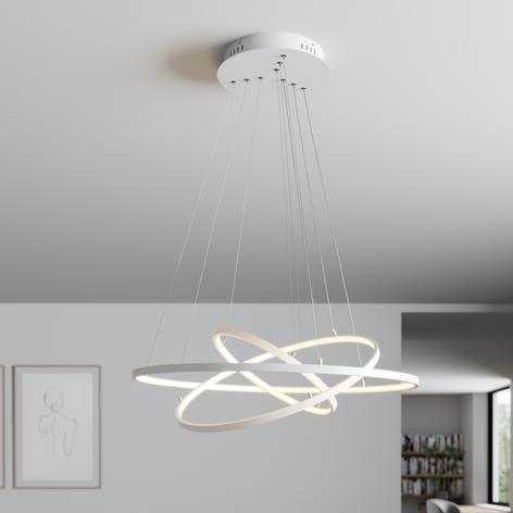 Lindby Philline LED-hengelampe, Ø 80 cm