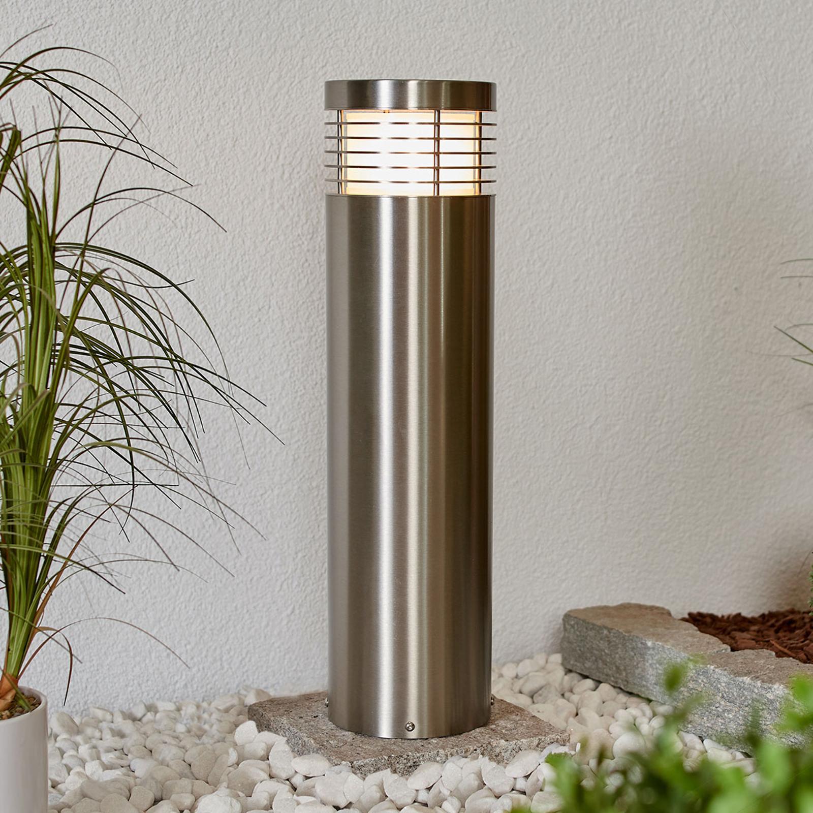 Veilampe Tomita, rustfritt stål V2A, 60cm