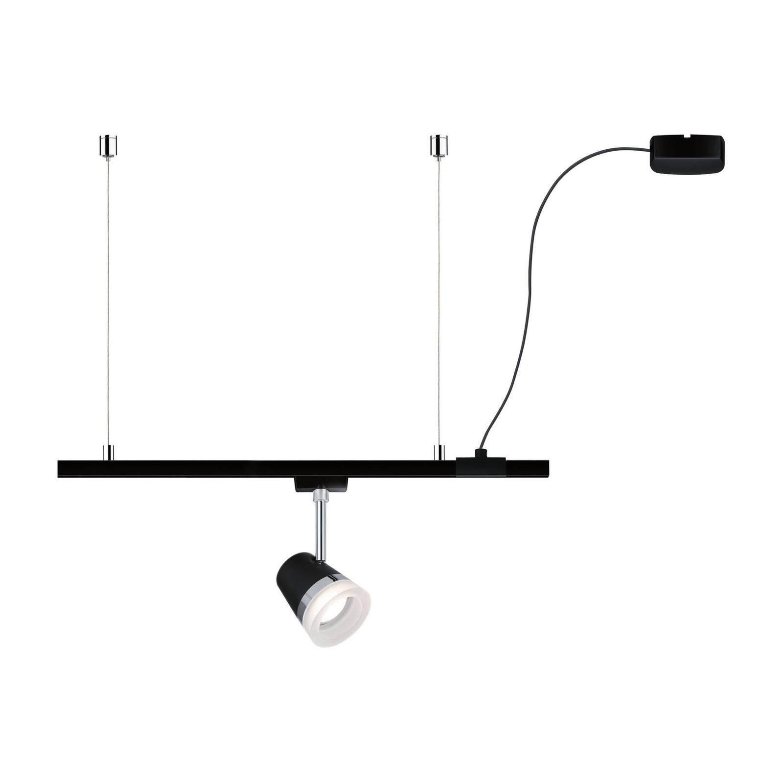 Paulmann Paulmann URail ZigBee kabelový napáječ černá matná