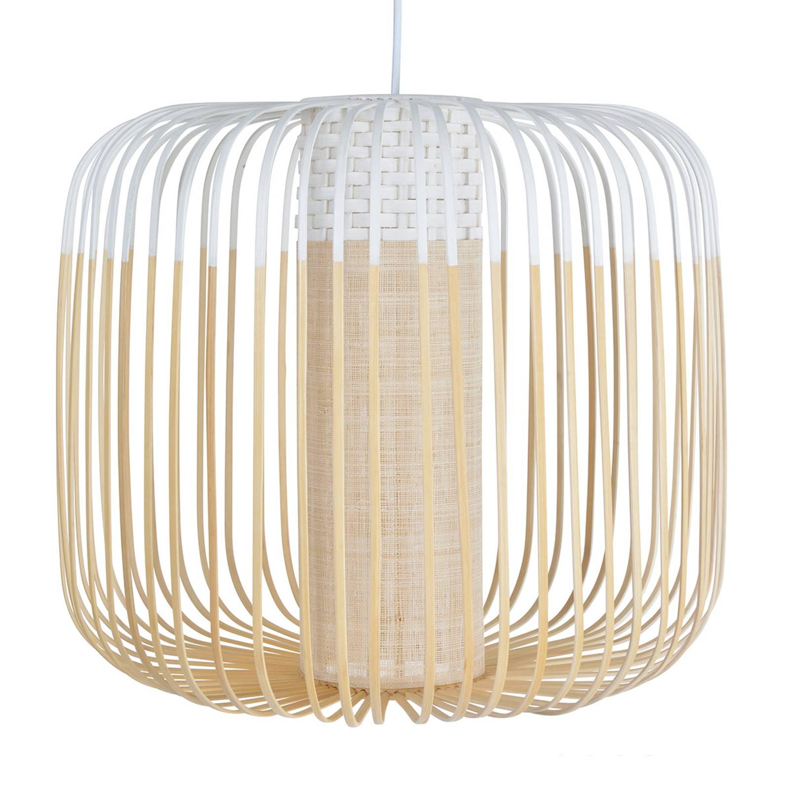 Forestier Bamboo Light M hanglamp 45 cm wit