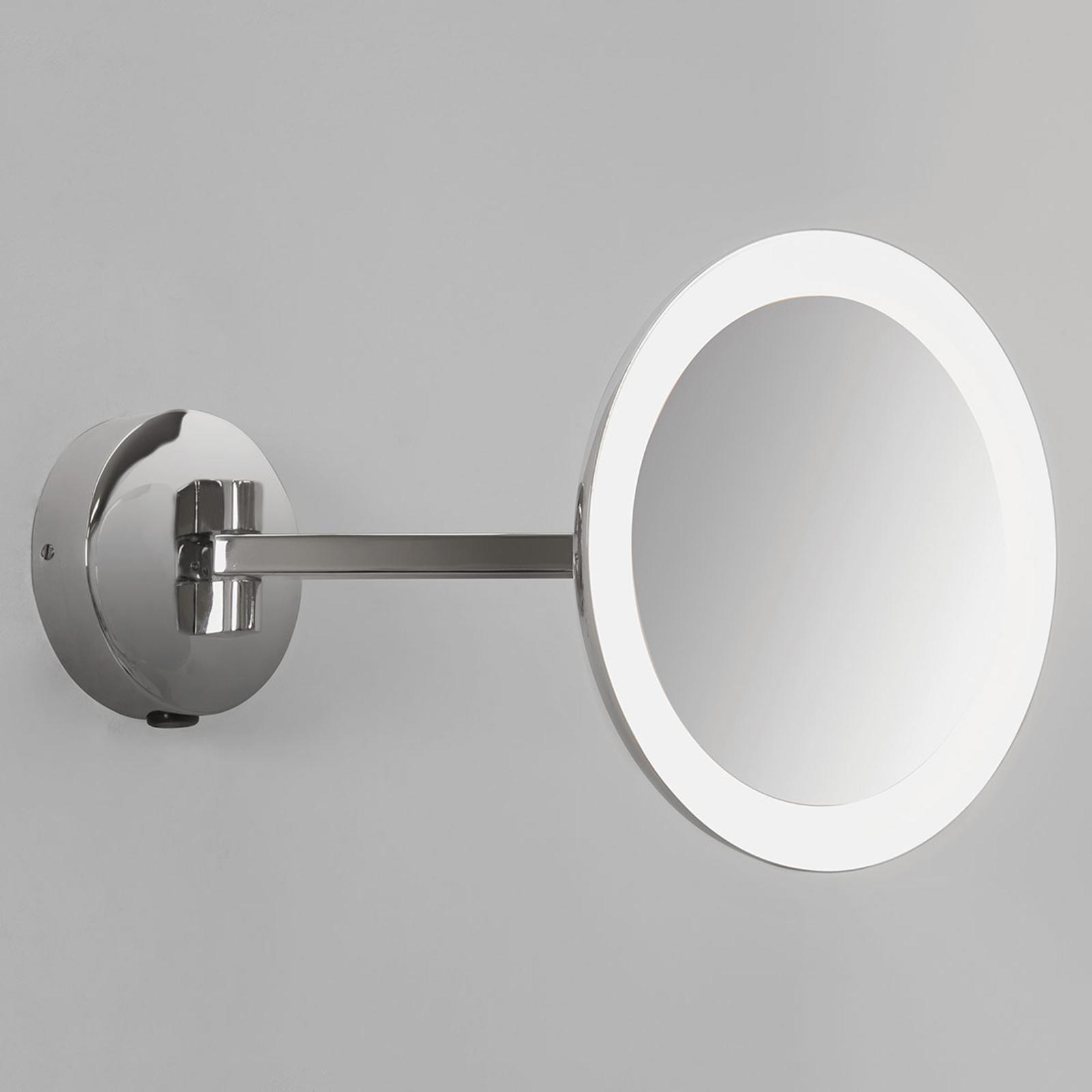 Espejo de pared con iluminación LED Mascali