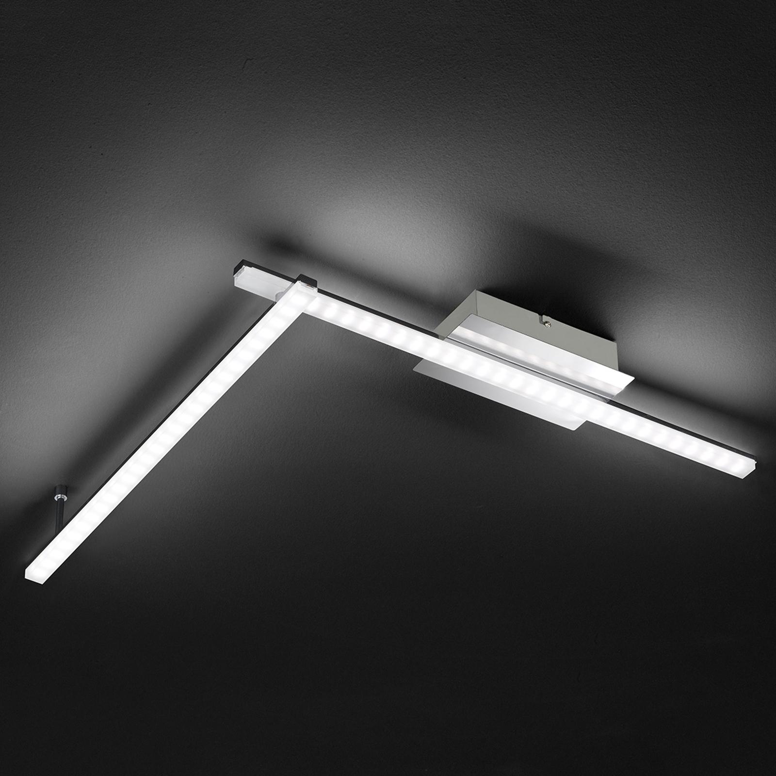 Clay - nowoczesna lampa sufitowa LED