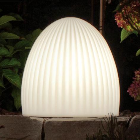 Außendekorationsleuchte Shining Cage LED mit Solar