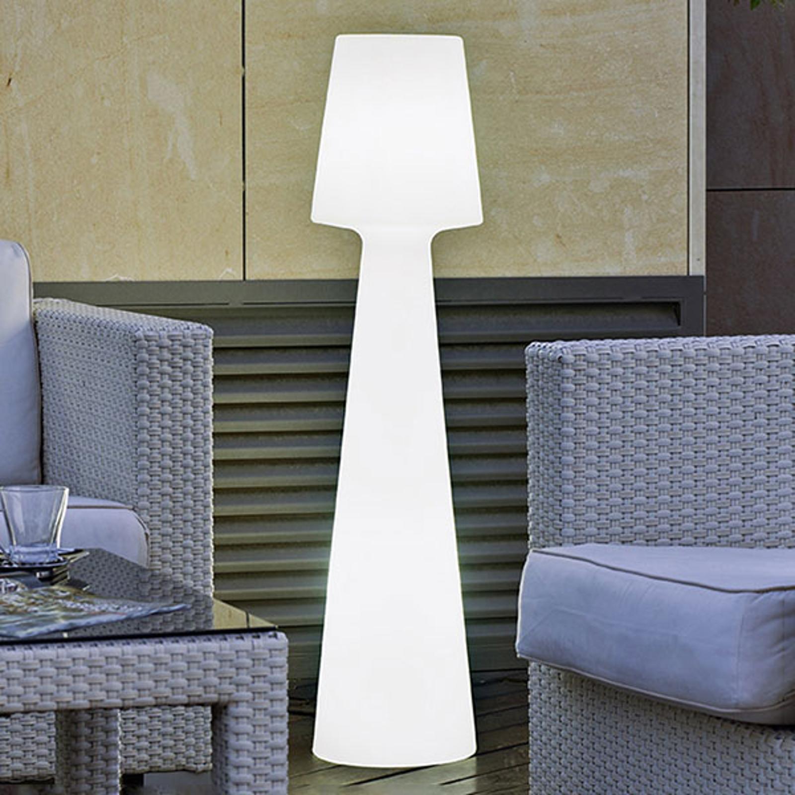 Newgarden Lola gulvlampe, højde 110 cm, varmhvid