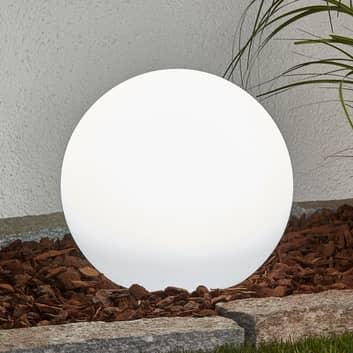 Lago-aurinkopallo LEDillä ja maapiikillä