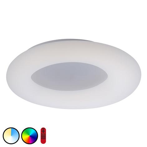 Plafonnier LED LOLAsmart Donut, Ø 60cm