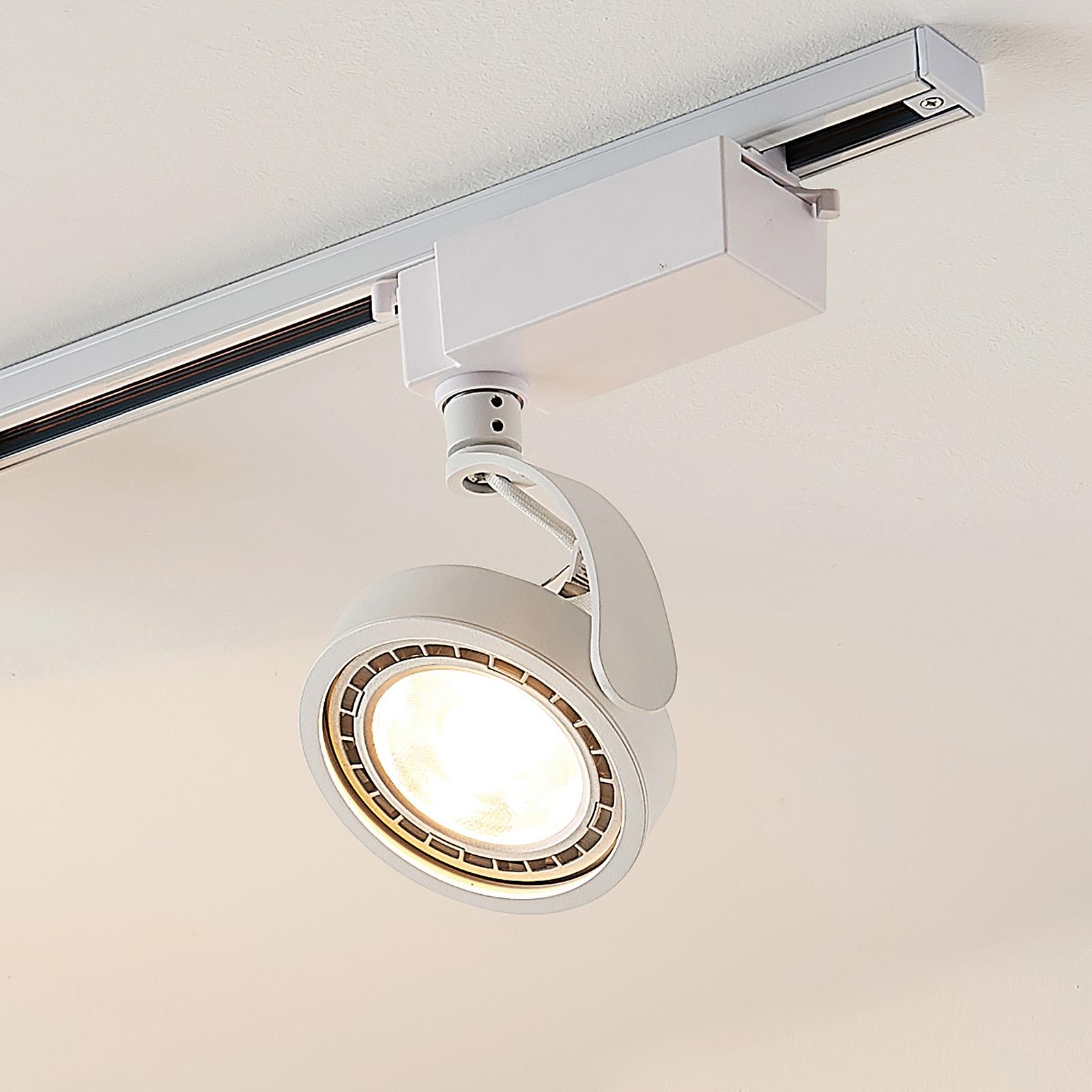 1-fase LED-spot Rick i hvit