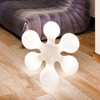 Designerska lampa stołowa Atomium