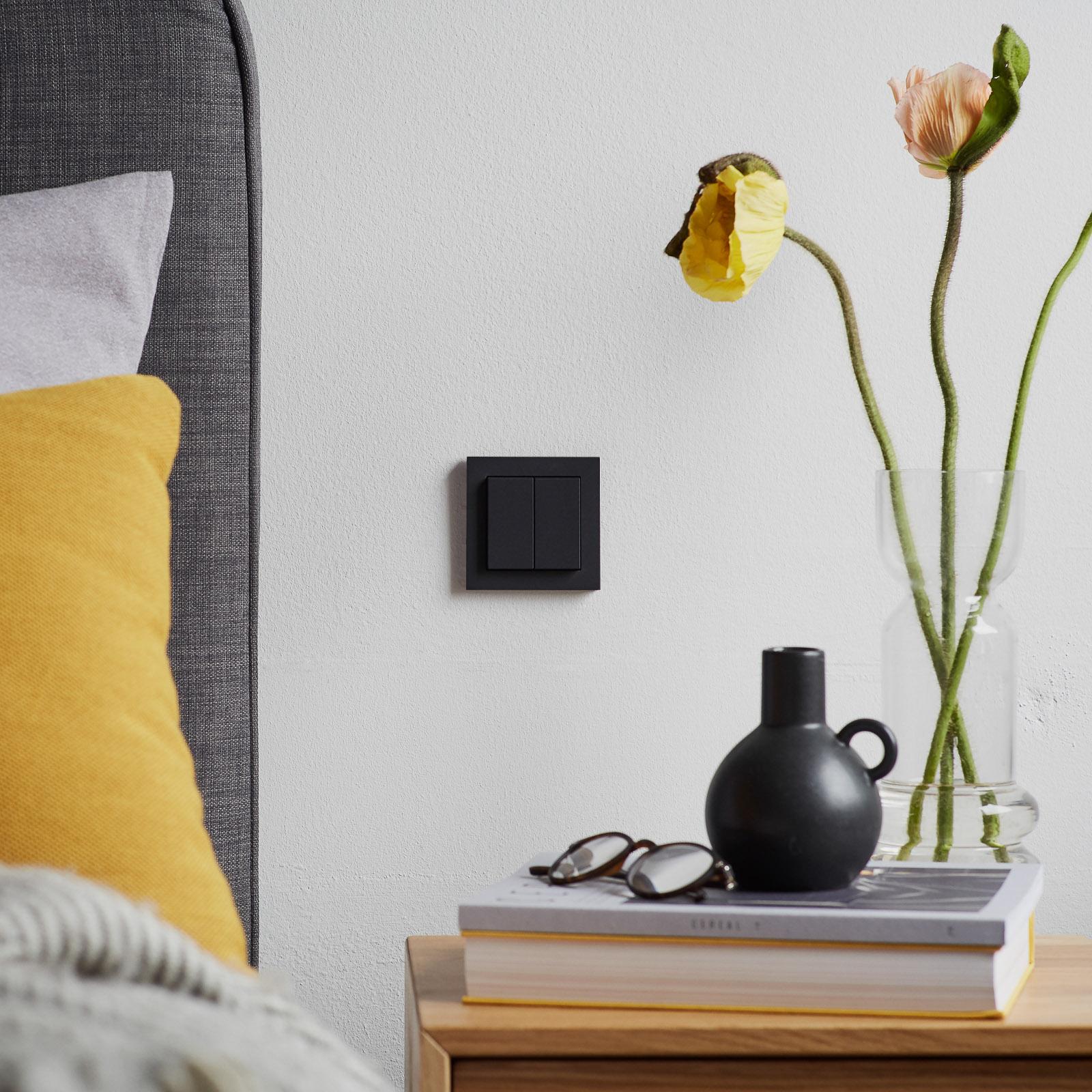 Senic Smart Switch Philips Hue, 1-er, schwarz matt