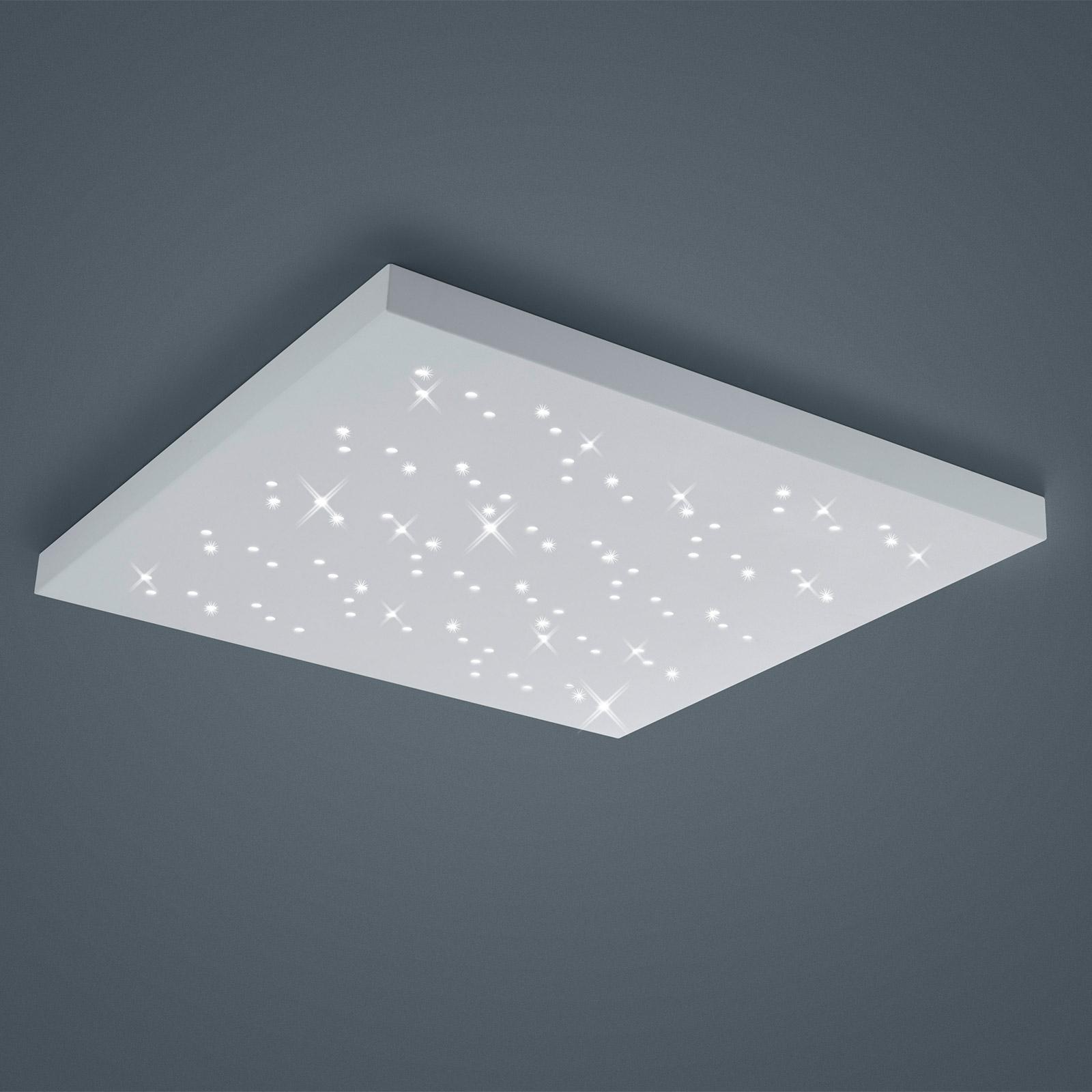 Plafonnier LED Titus blanc 75x75cm