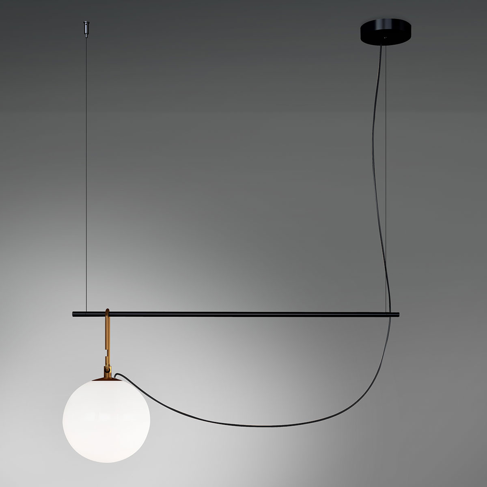 Artemide nh S2 22 hanglamp 90,5 cm bol Ø 22cm