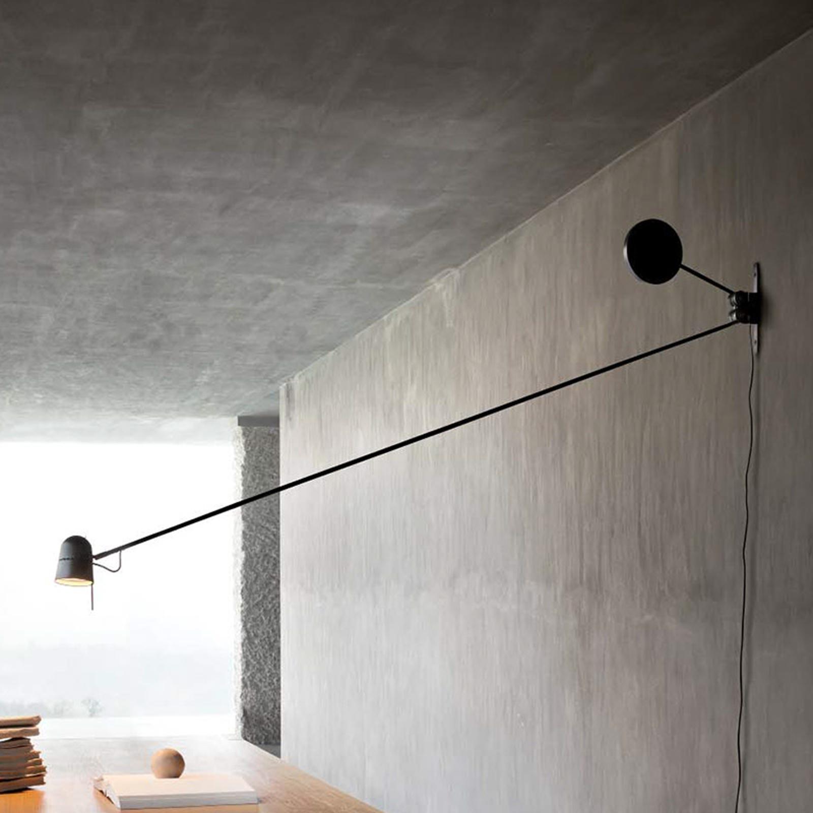 Luceplan Counterbalance -  LED-Wandleuchte schwarz