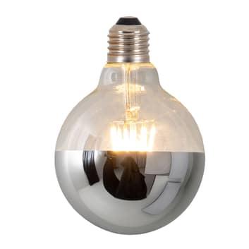 LED zrcadlená žárovka Tomy, E27 8W stmívatelná