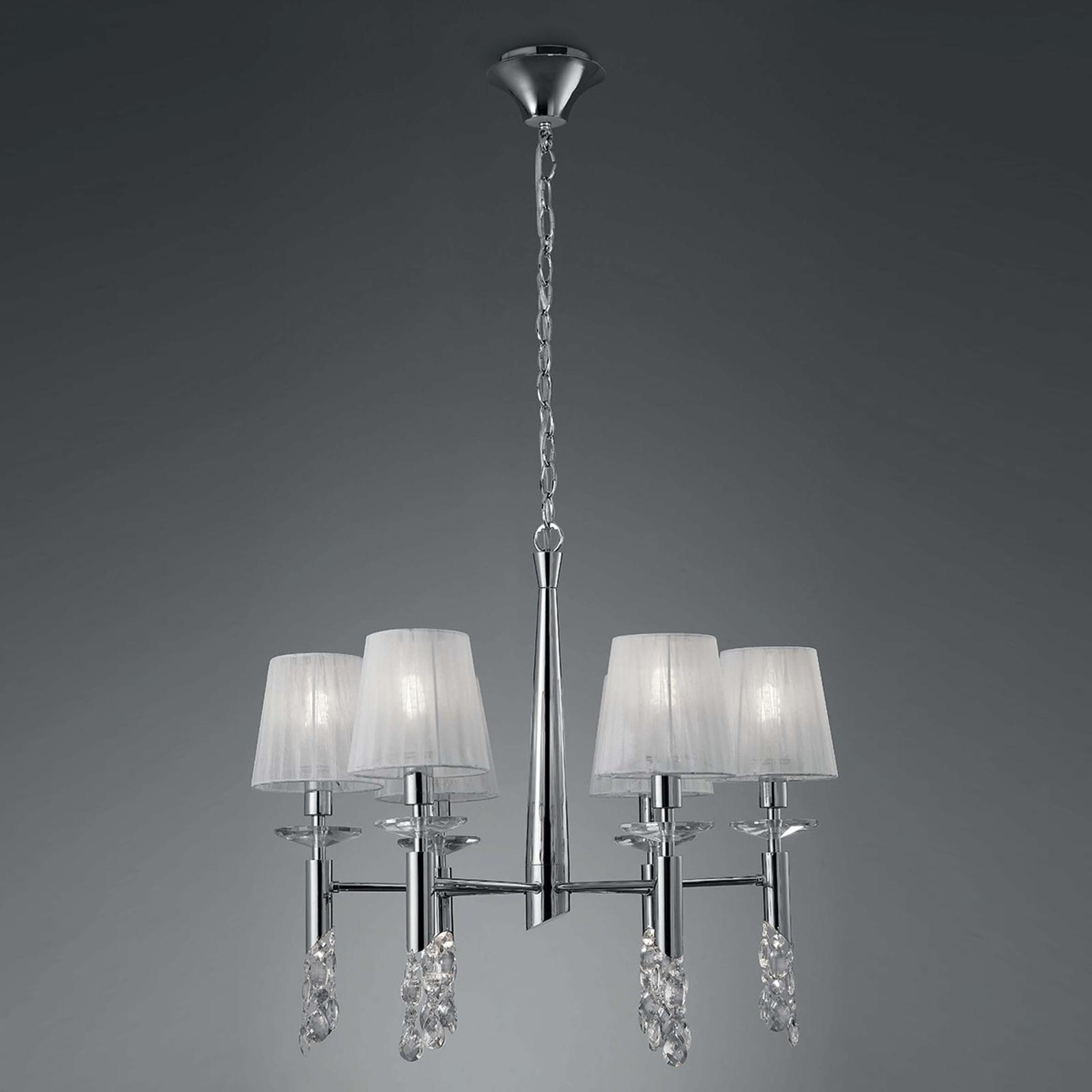 Lámpara de araña Lilja de 6 luces