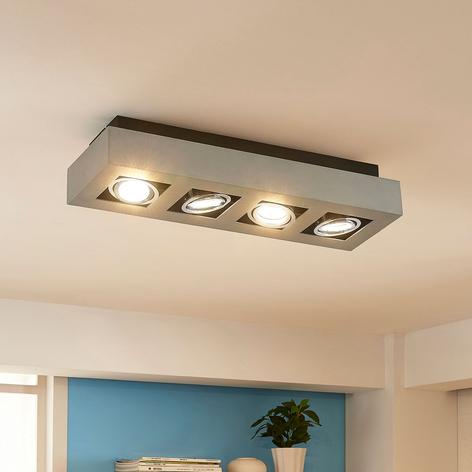 Plafonnier LED Vince à 4 lampes