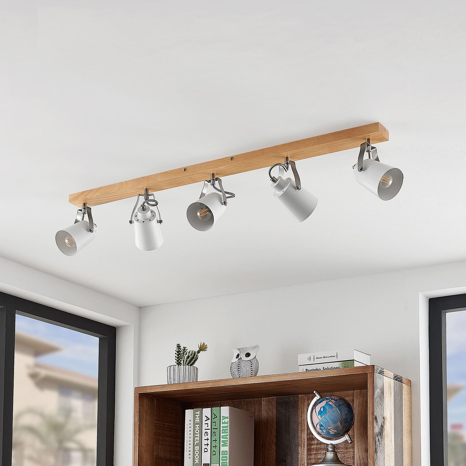 Lindby Blana lampa sufitowa, 5-punktowa