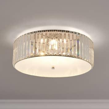 Lucande Alobani lampa sufitowa LED z kryształami