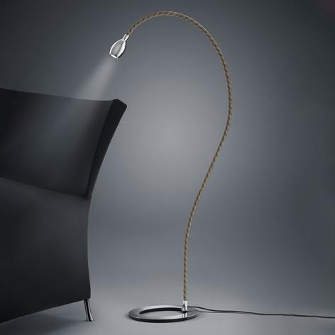 Baulmann 24.345 LED-Stehlampe Flexarm mit Textil