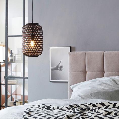 Schöner Wohnen Calla lampada sospensione nero