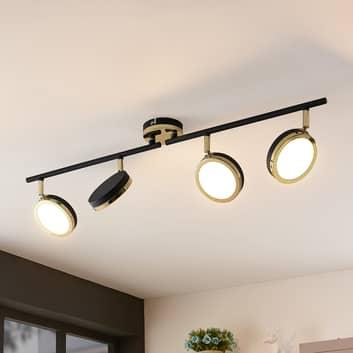 Lindby Alsani LED-Deckenstrahler, 4-flammig