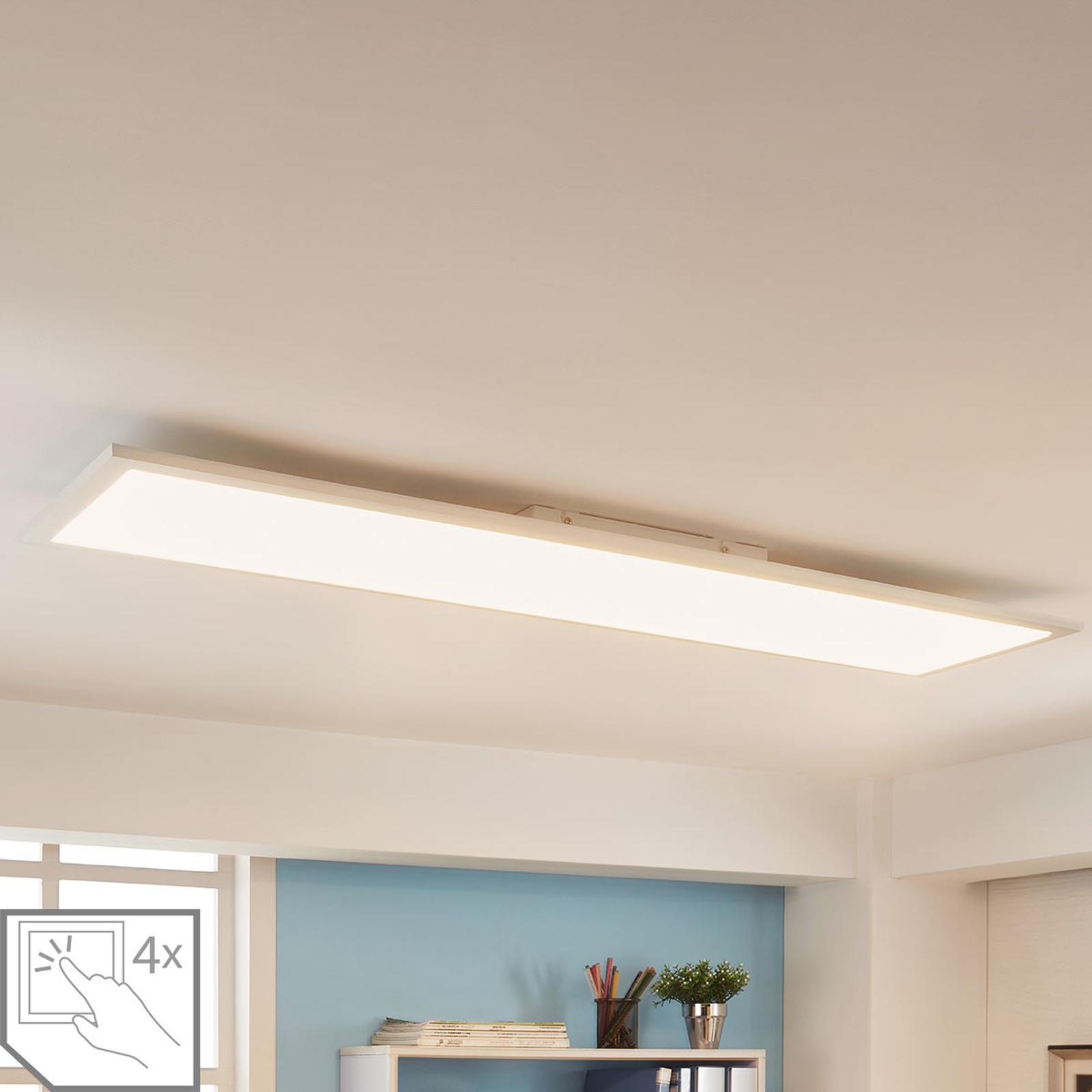 Arcchio Enja LED-Panel, 119,5 cm x 29,5 cm