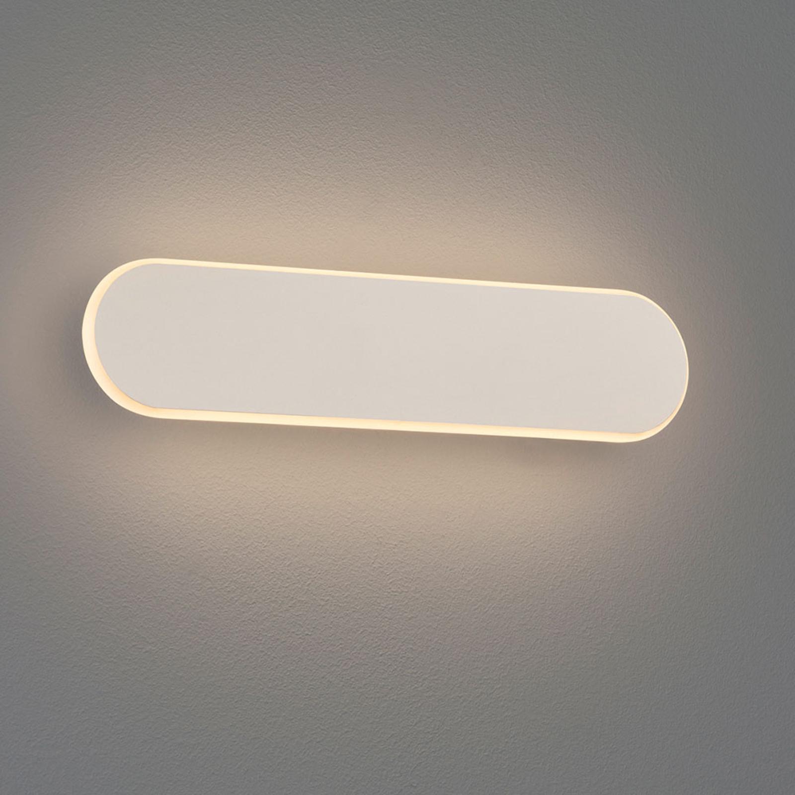 LED wandlamp Carlo, SwitchDim, 35 cm, wit