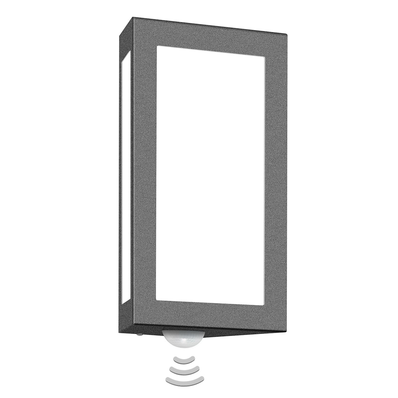 Udendørs væglampe Long med sensor