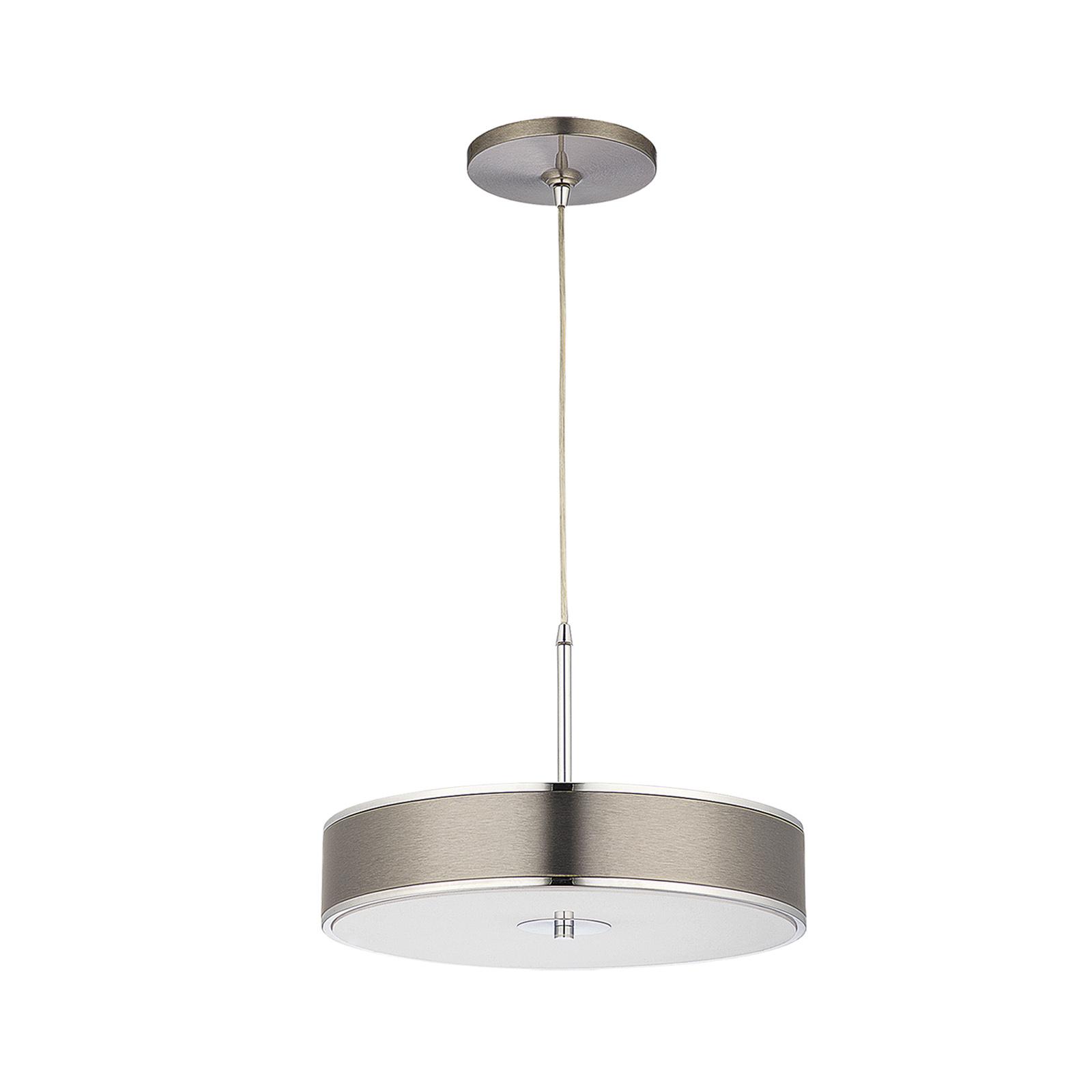 Lampa wisząca Riga, chrom Ø 40 cm