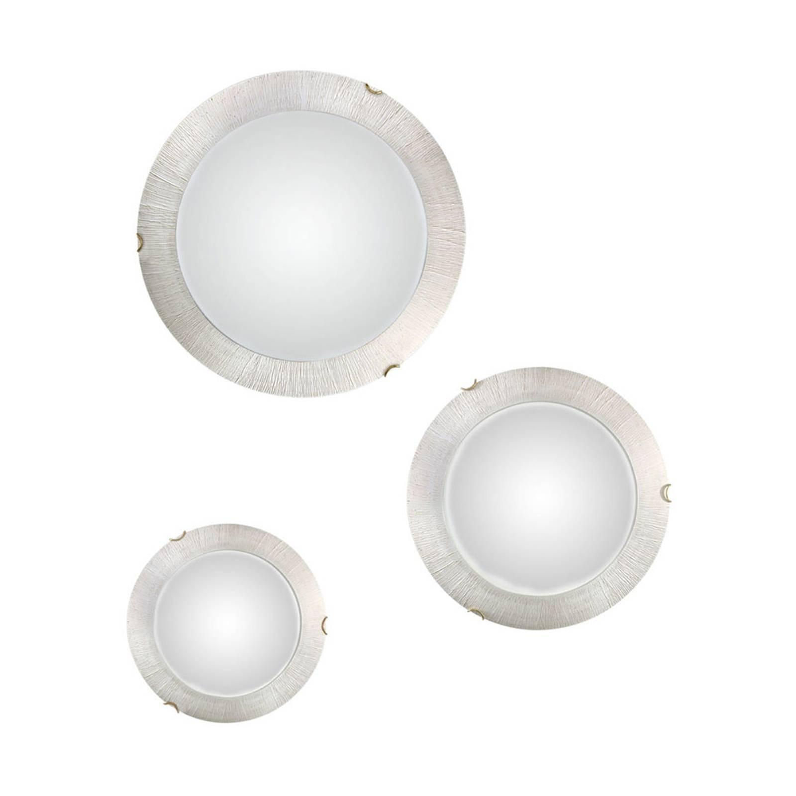 Applique Moon Sun, blanche, Ø 30cm