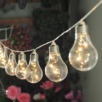 Lindby Lampini LED-solcelle-lyslenke