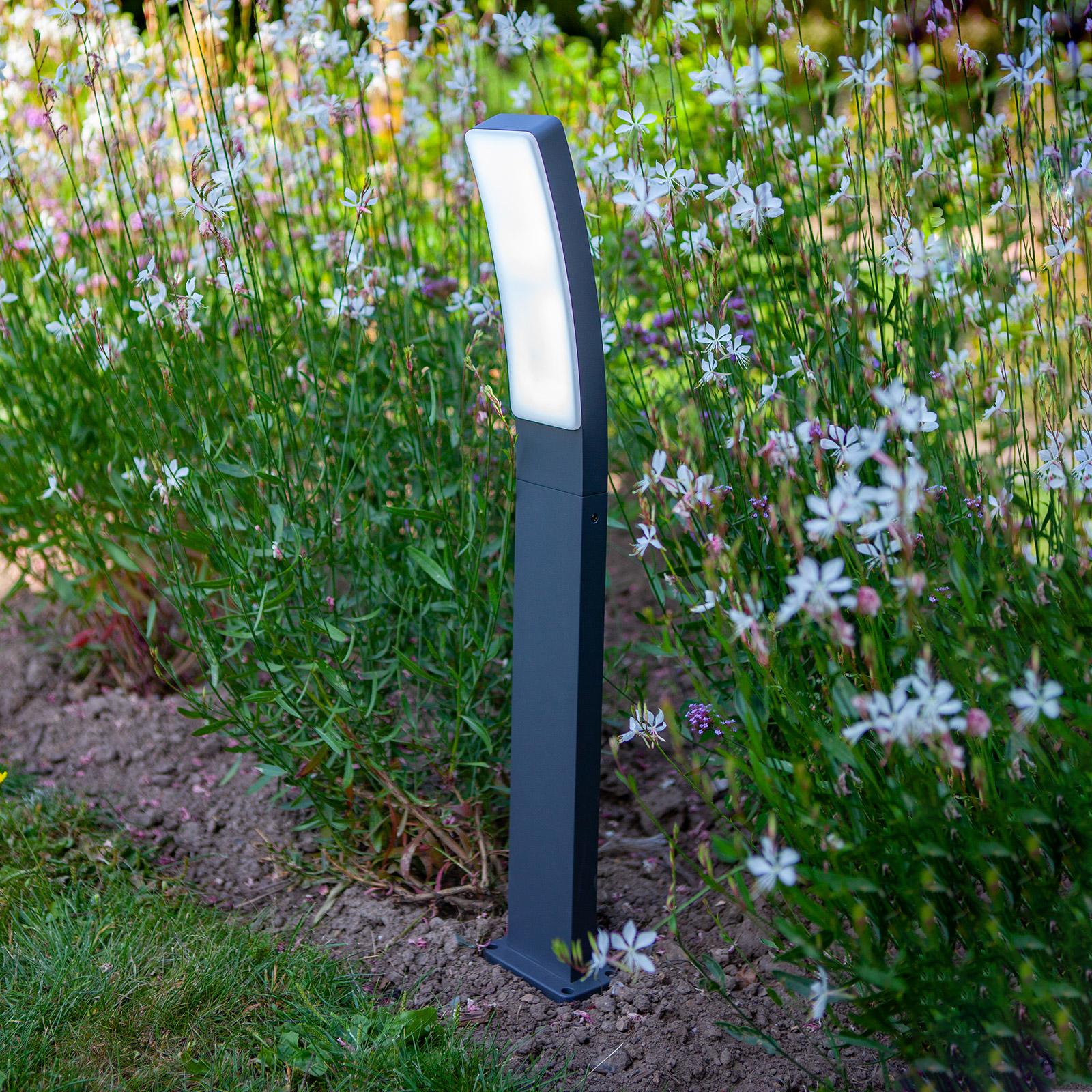 Słupek ogrodowy LED Kira z technologią Tuya