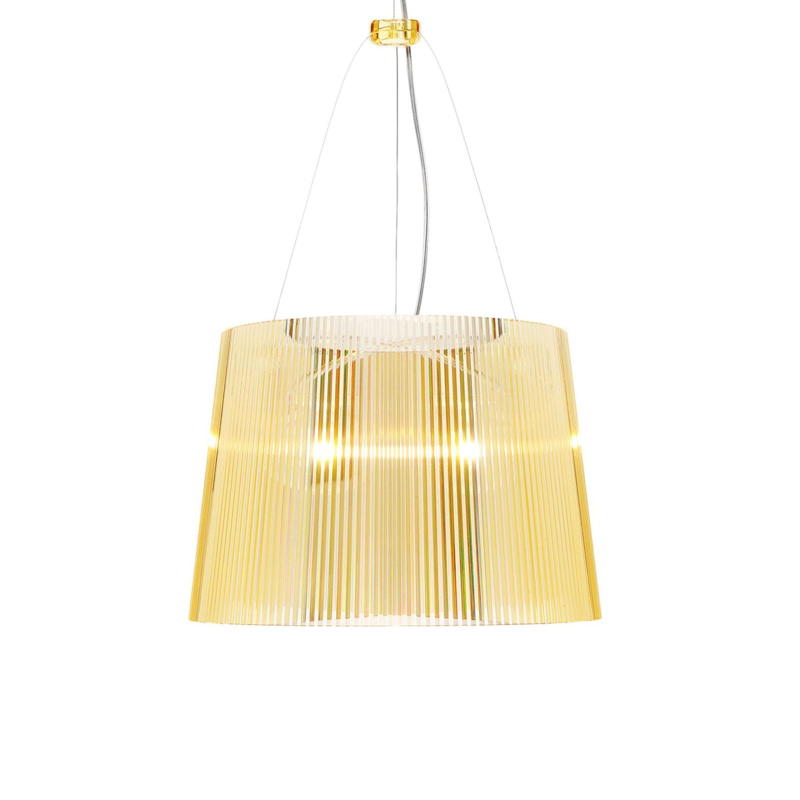 Kartell Gé LED-hængelampe, gul