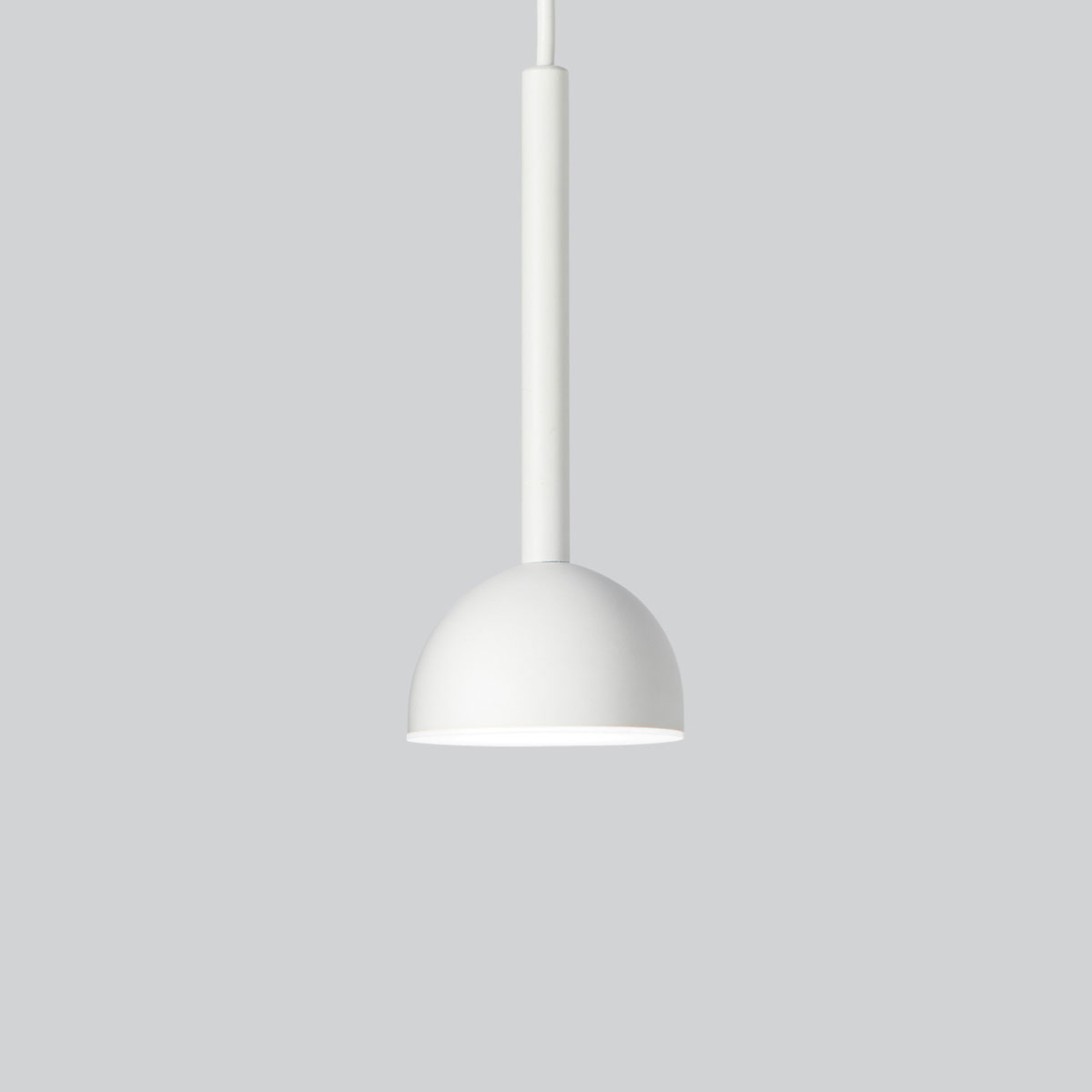 Northern Blush suspension LED blanche