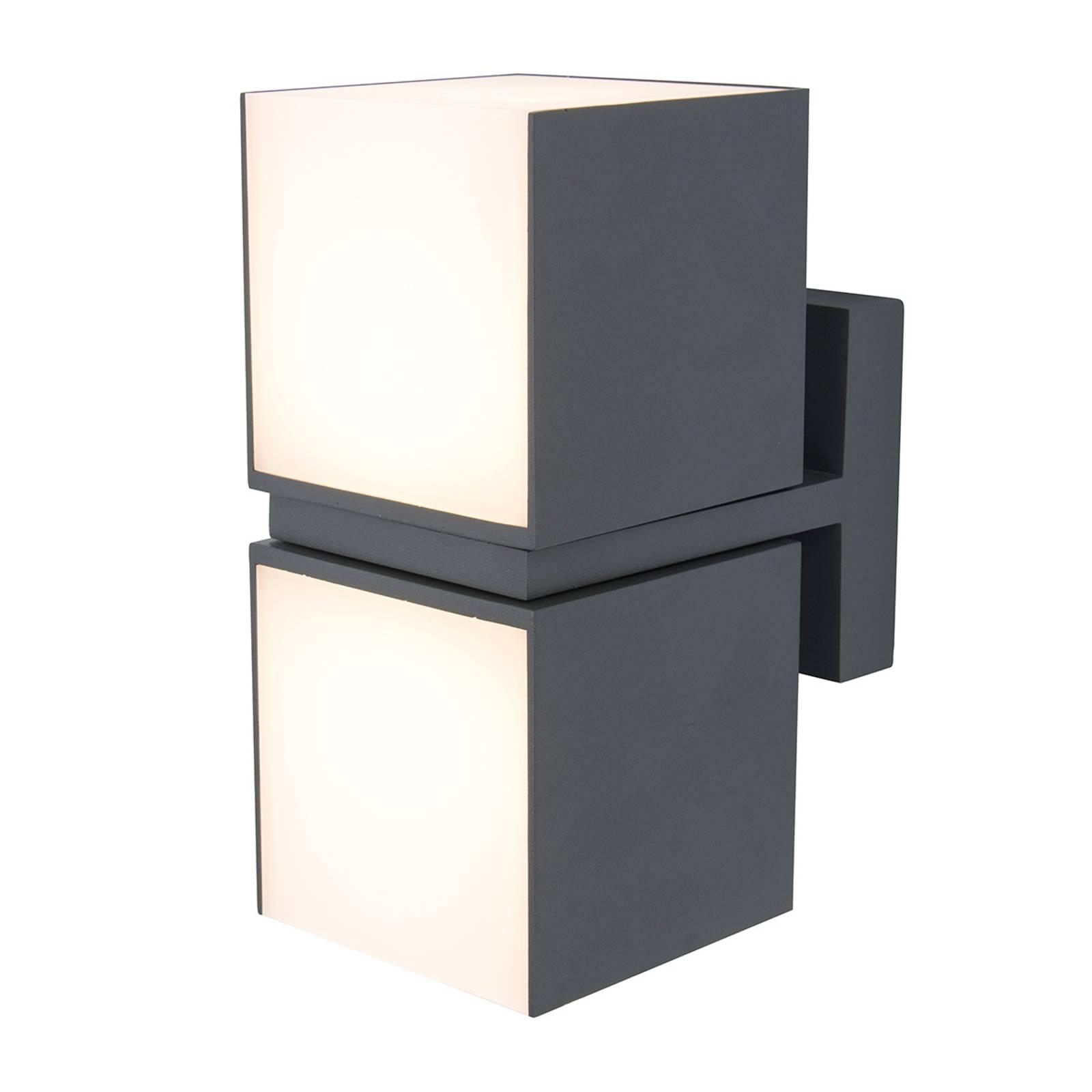 Applique LED Cuba, 2 lampes, têtes pivotantes