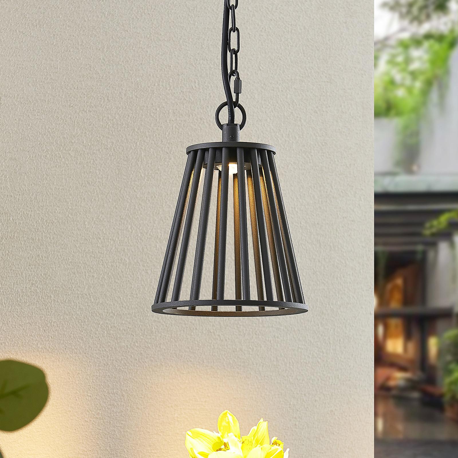 Lucande Miray utendørs LED-taklampe