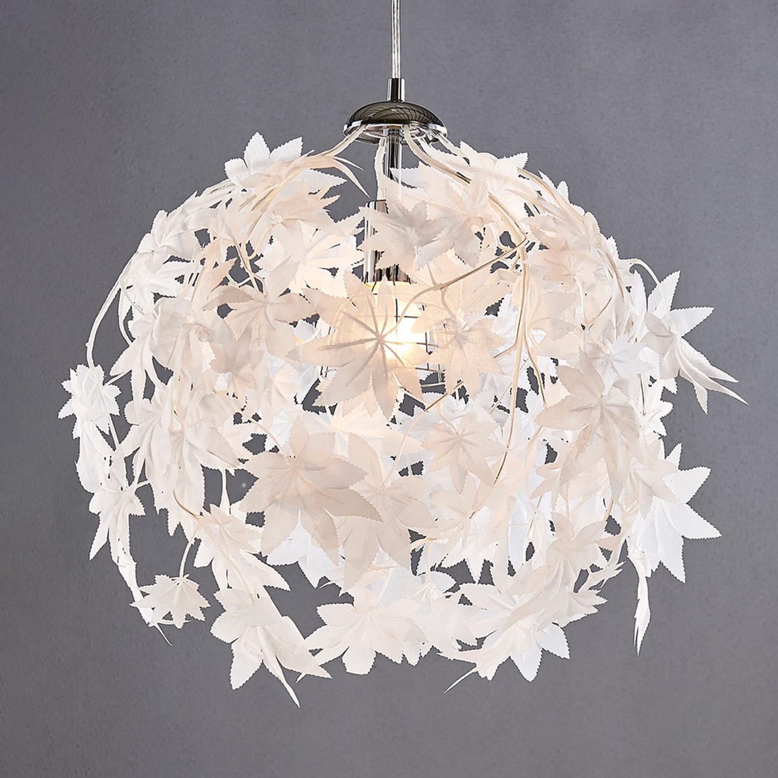 Lámpara colgante Maple con diseño de hojas
