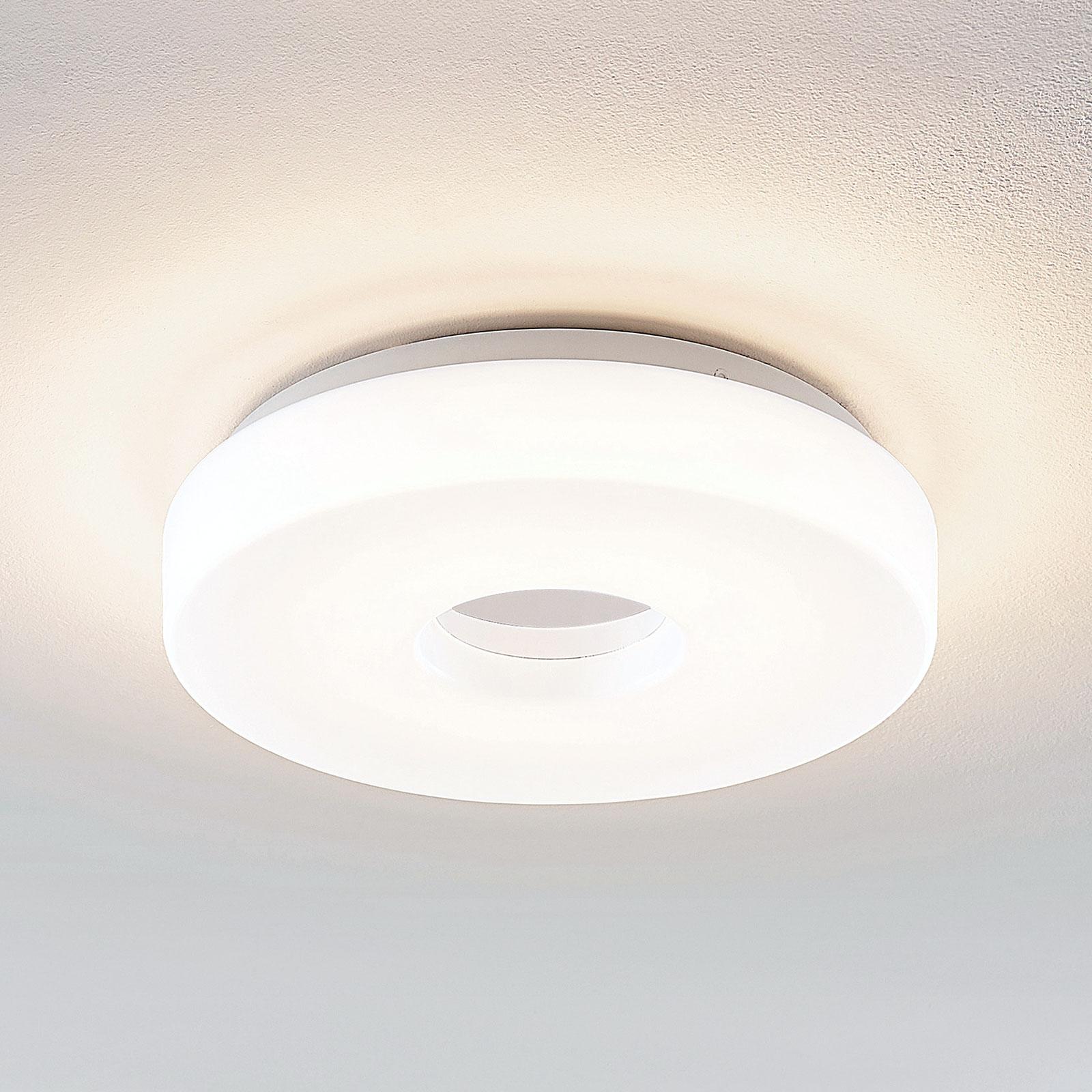 Lindby Florentina LED-taklampe, ring, 29,7 cm
