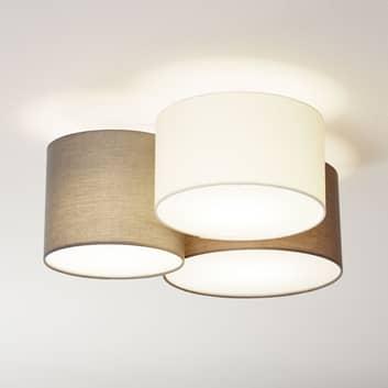 Lampa sufitowa Pastore, 3-punktowa