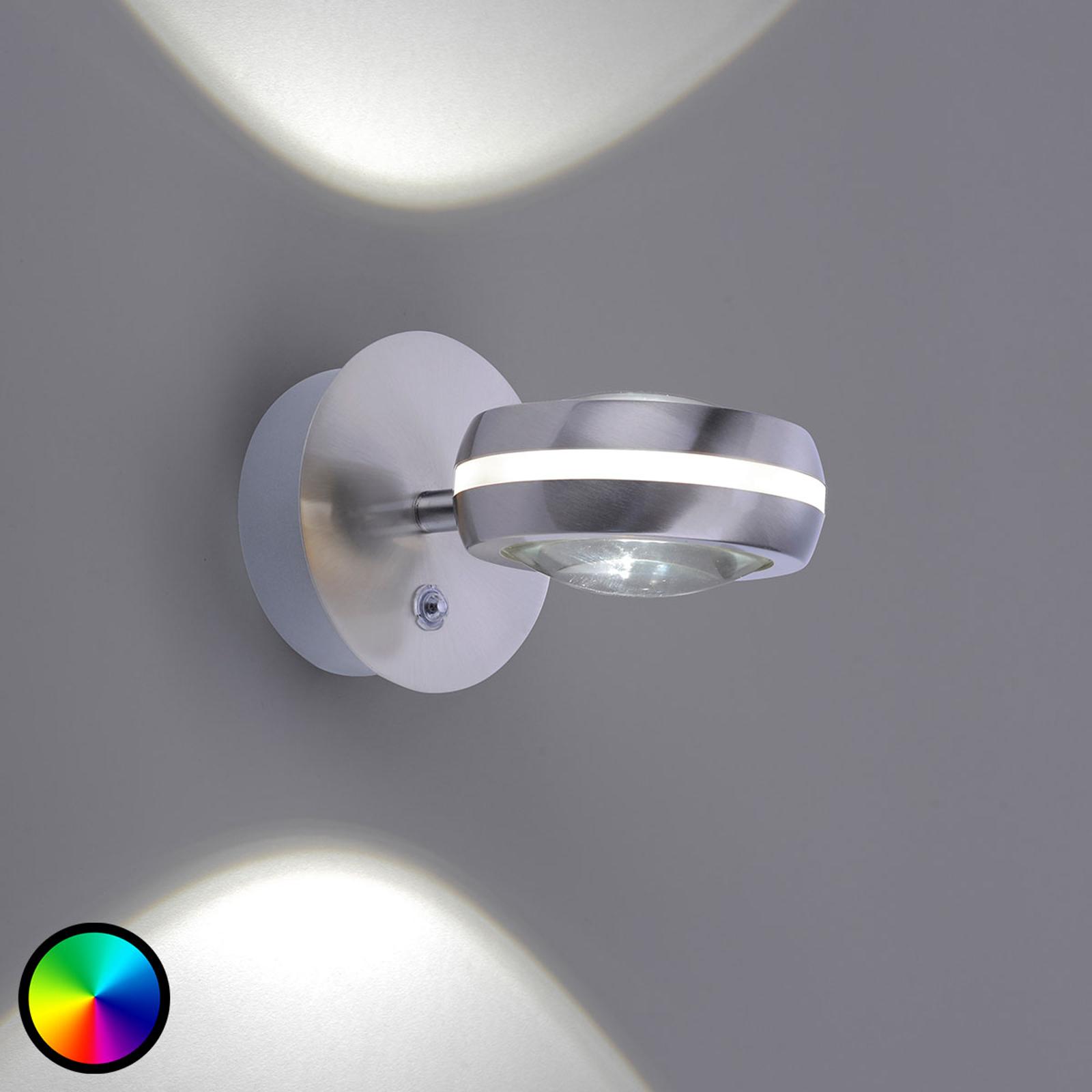 Trio WiZ Vista LED-vägglampa up and down