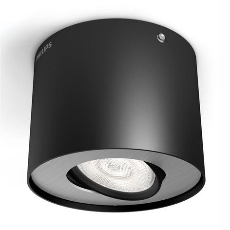 Spot LED downlight LED Phase, noir