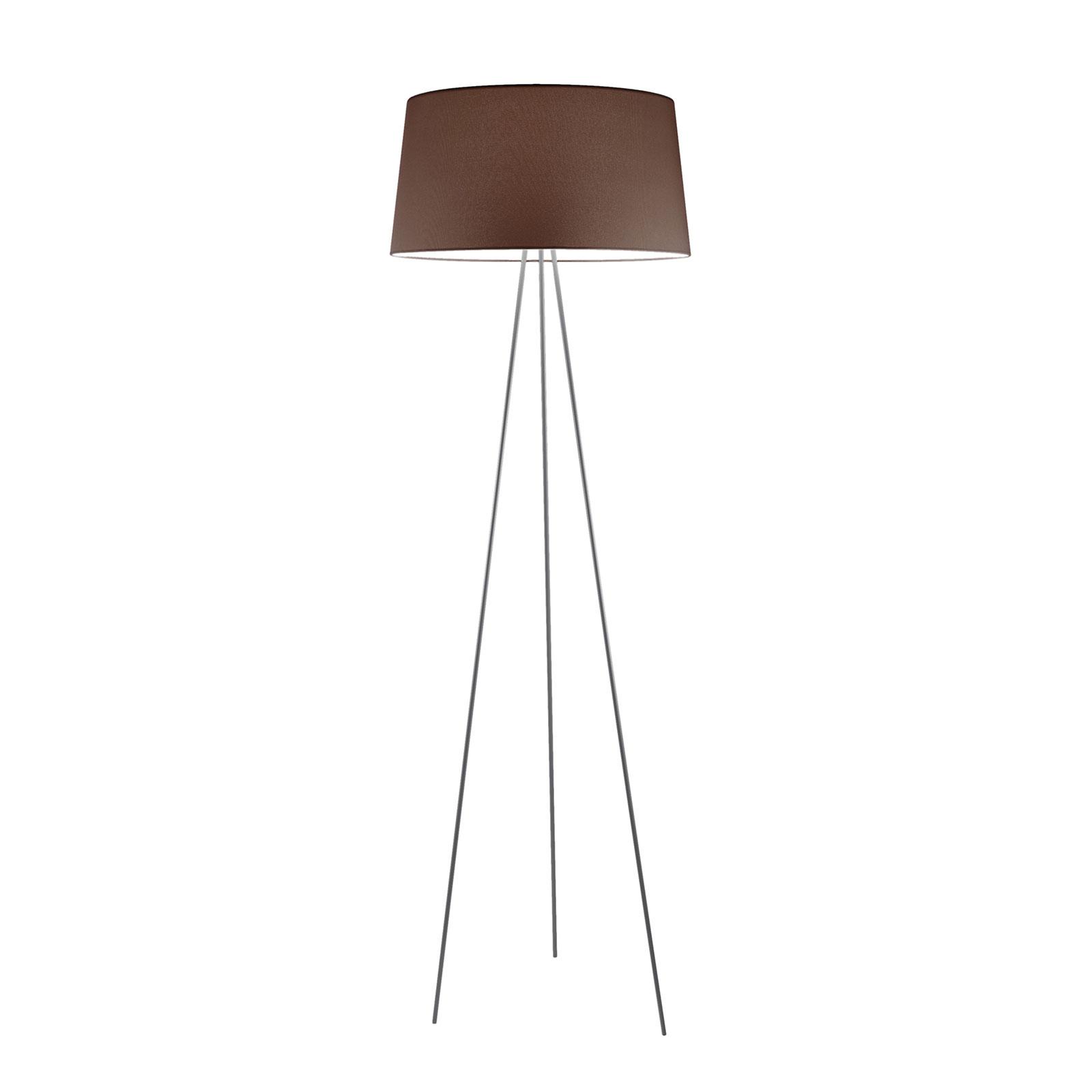 Kundalini Tripod lampa podłogowa mokka/szara