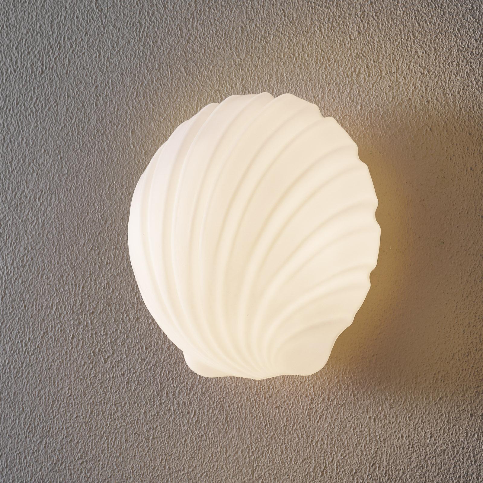 Mydi væglampe i glas