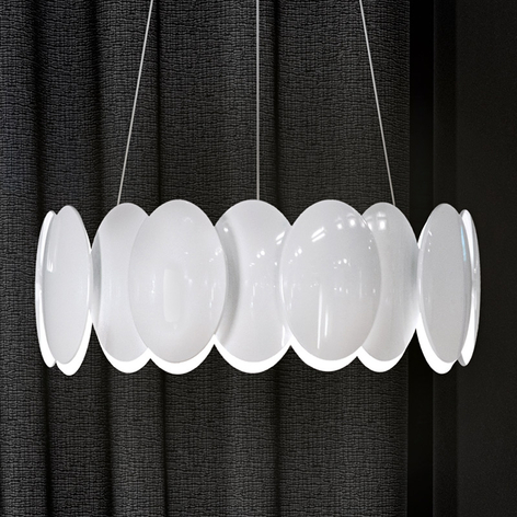 Milan Obolo - suspension LED ronde - 42,9cm
