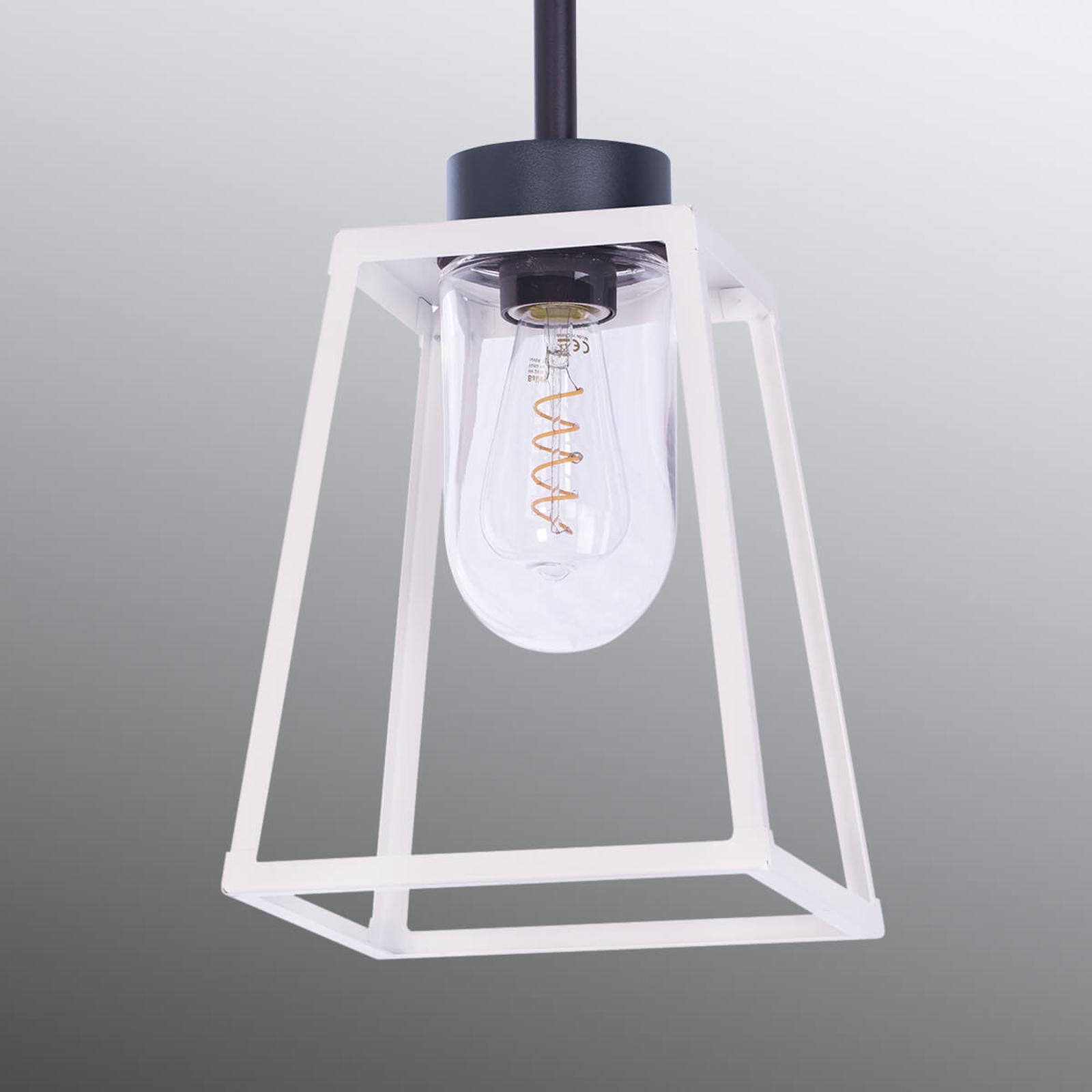 Außen-Hängelampe Lampiok, weiß, 59,2 cm kaufen
