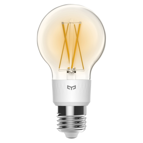 Yeelight Smart LED-Filament-Lampe E27 6W dimmbar
