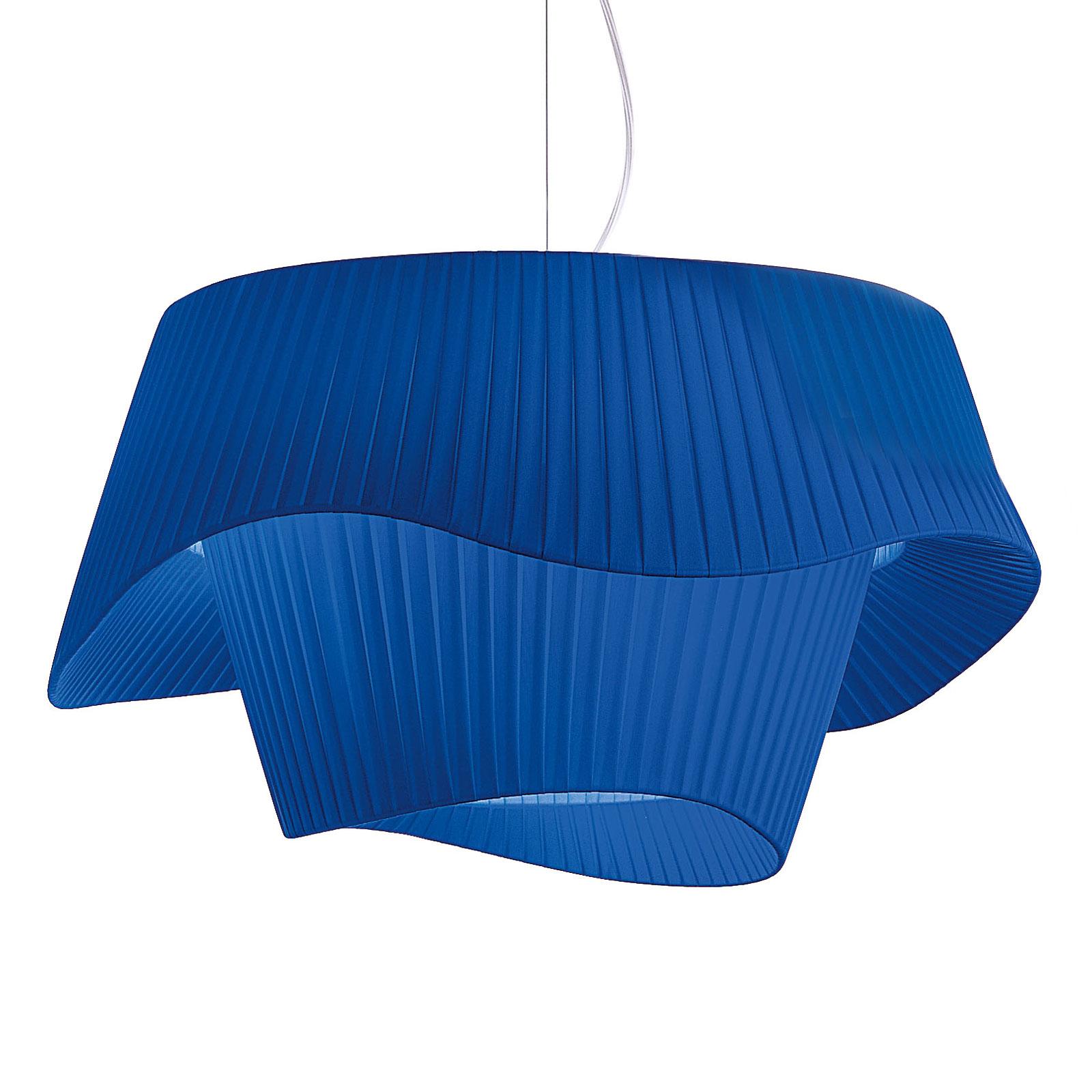 Modo Luce Cocó lampa wisząca Ø 80 cm niebieska