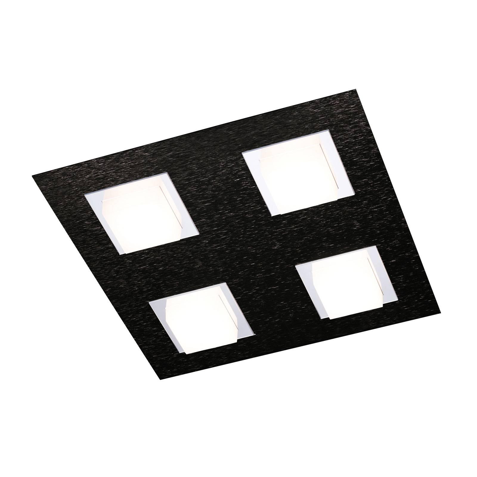 GROSSMANN Basic Deckenleuchte 4-flammig schwarz